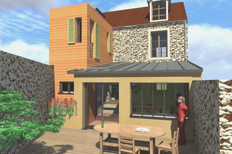 architecte agrandissement maison yvelines. Black Bedroom Furniture Sets. Home Design Ideas