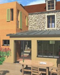 Architecte extension maison Eure-et-Loir, Yvelines